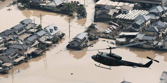 Japonya'da sel felaketi: 156 kişi öldü