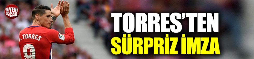 Torres Japonya'ya gitti