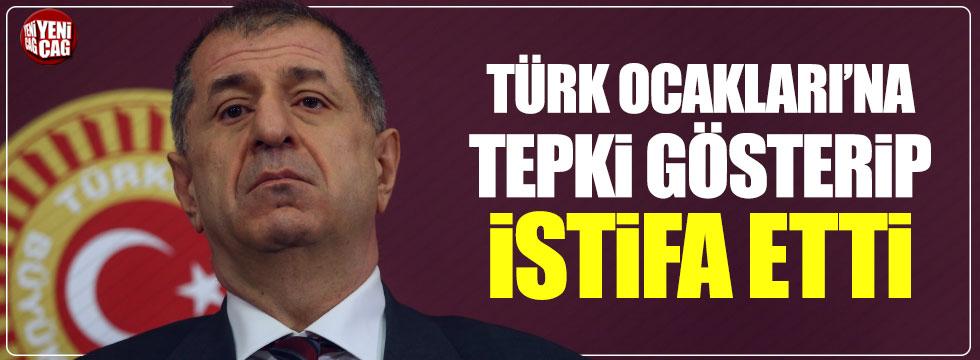 Türk Ocakları'na tepki gösteren Ümit Özdağ istifa etti