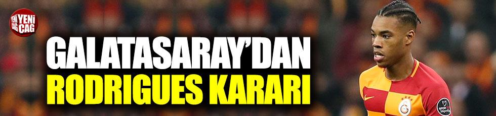 Galatasaray'da Rodrigues kararı
