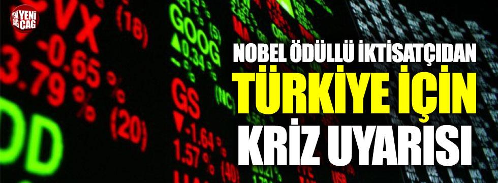 Nobel ödüllü iktisatçıdan kriz uyarısı