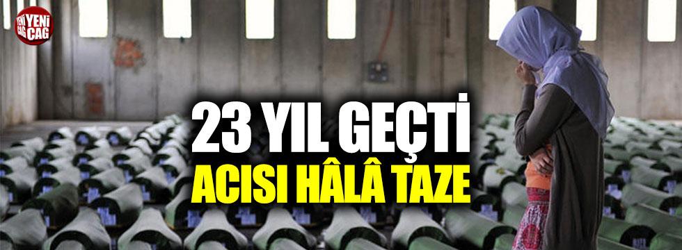 23 yılın ardından dinmeyen acı: Srebrenitsa soykırımı