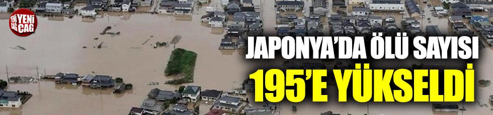 Japonya'daki felakette ölü sayısı 195'e yükseldi