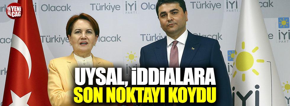 Gültekin Uysal: İYİ Parti'ye desteğim devam edecek