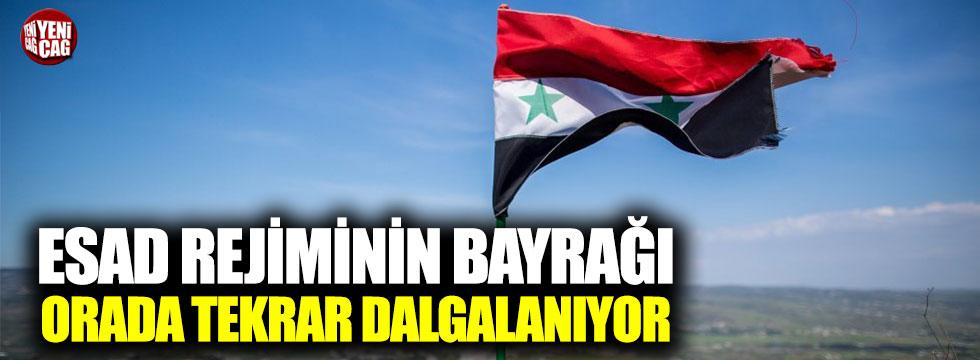 Esad rejimi o noktaya tekrar bayrak çekti