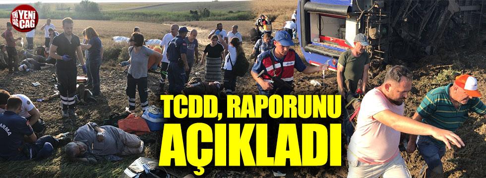 TCDD, Çorlu'daki tren kazasıyla ilgili raporunu açıkladı