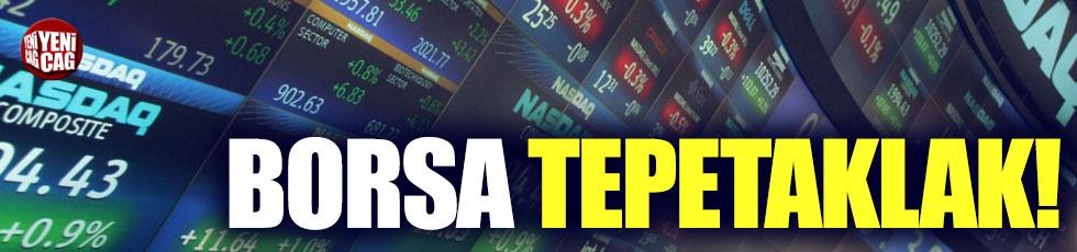 Borsa'da kayıp yüzde 10'a dayandı