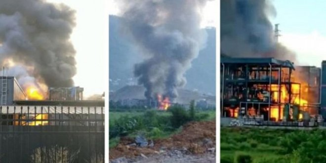 Çin'de patlama: 19 ölü