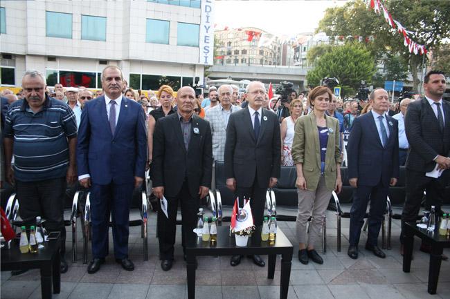 Srebrenitsa kurbanları Kartal'da anıldı