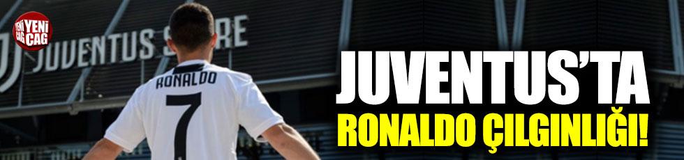 Juve'de Ronaldo çılgınlığı!