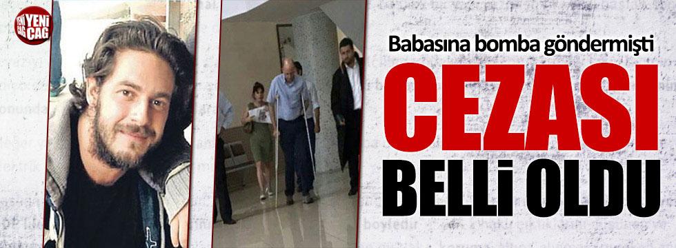 Babasına bomba yollayan Osman Kurdaş'ın cezası belli oldu