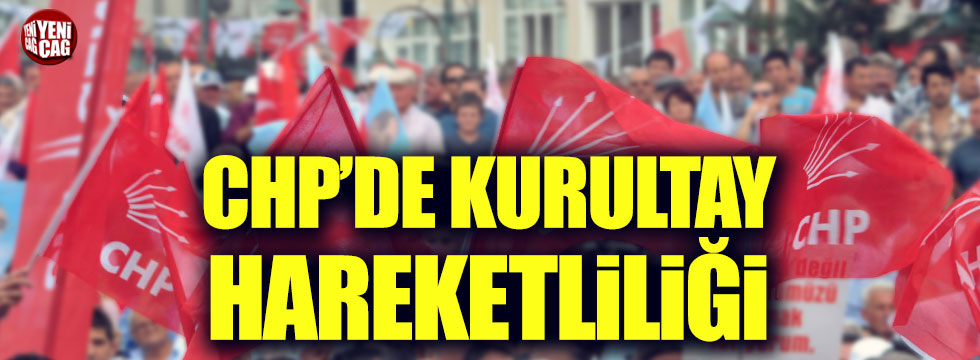 CHP'de kurultay için imza toplanacak