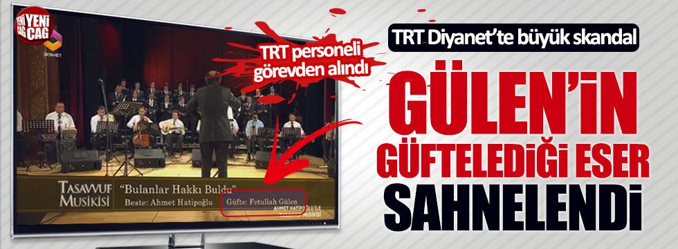 TRT Diyanet'te Fethullah Gülen'in güftelediği şarkı yayınlandı