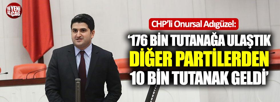 CHP'den seçim tutanağı açıklaması