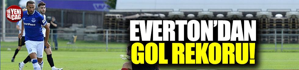 Everton'dan gol rekoru!