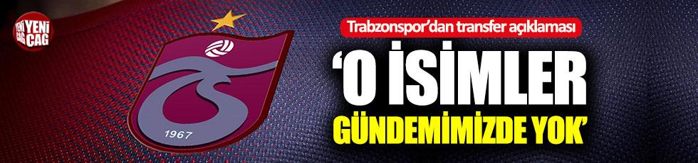 Trabzonspor'dan resmi transfer açıklaması