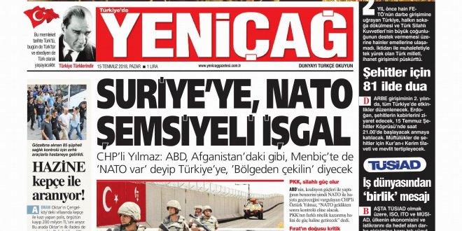 Günün Ulusal Gazete Manşetleri - 15 07 2018
