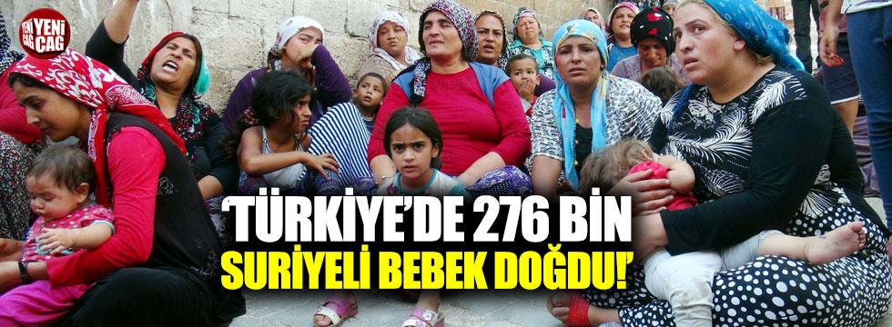 """Çeviköz: """"Türkiye'de 276 bin Suriyeli bebek doğdu"""""""