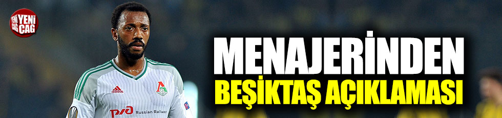 Fernandes'in menajerinden Beşiktaş açıklaması