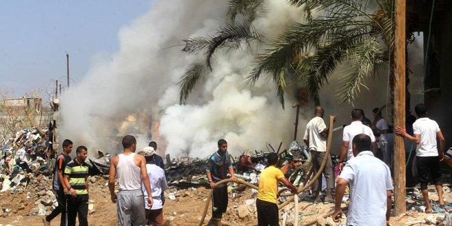 Gazze'de patlama: 2 ölü