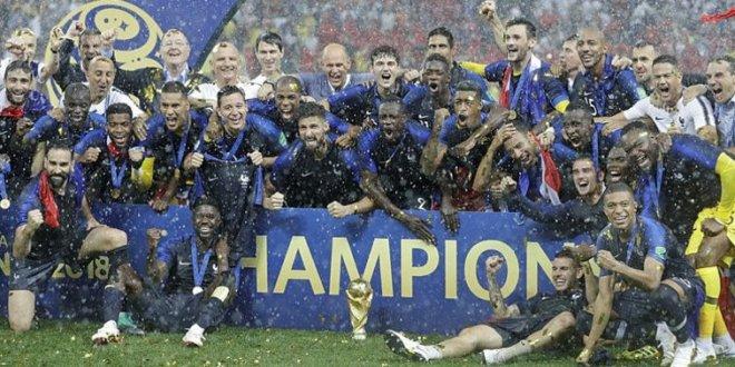 Fransa tarihinde ikinci kez şampiyon