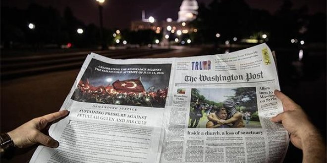 Washington Post'ta tam sayfa FETÖ uyarısı ilanı