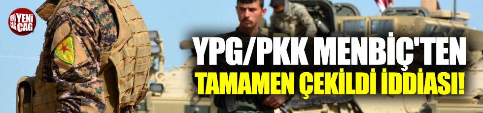 YPG/PKK Menbiç'ten tamamen çekildi mi