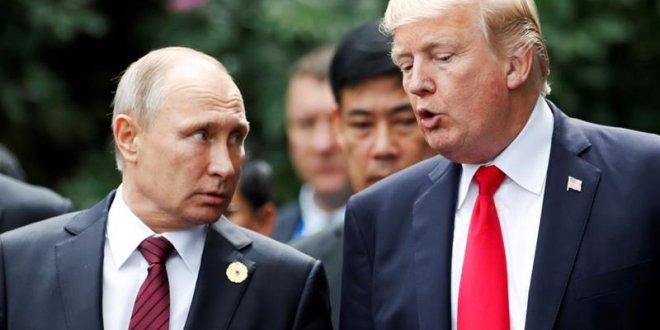 Trump Putin ile bir araya geldi