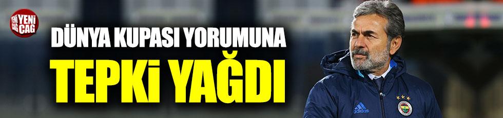 Aykut Kocaman'ın Dünya Kupası yorumu Fenerbahçelileri kızdırdı