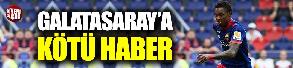 Galatasaray'a Vitinho'dan kötü haber