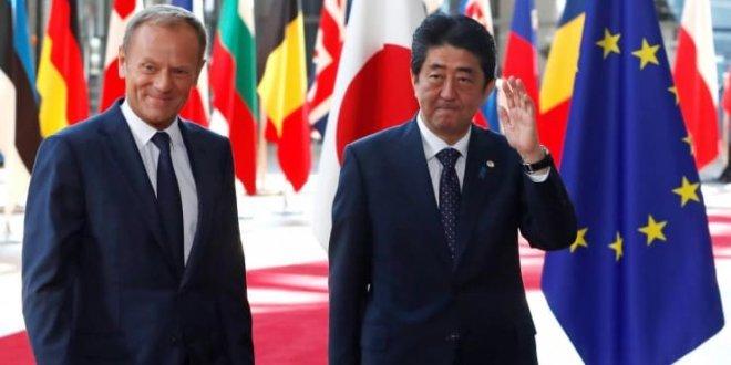 AB ile Japonya arasında kapsamlı ticaret anlaşması