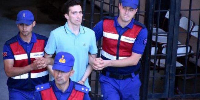 Tutuklu Yunan askerlere tahliye çıkmadı