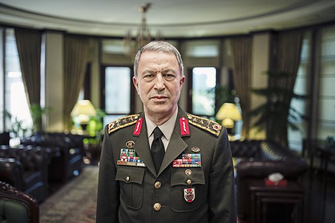 Milli Savunma Bakanı Akar'dan TSK'ya veda