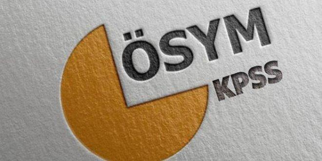 KPSS giriş yerleri açıklandı…