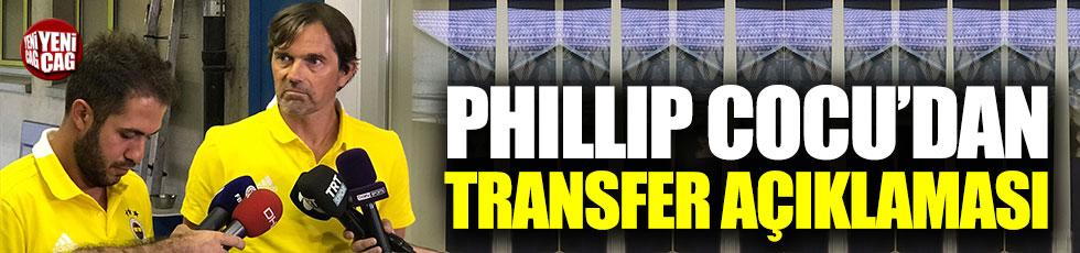 Cocu'dan transfer açıklaması