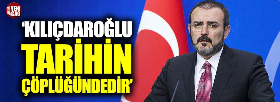 """Ünal: """"Kılıçdaroğlu tarihin çöplüğündedir"""""""
