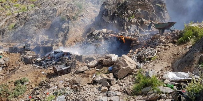 PKK'ya ait depo ele geçirildi