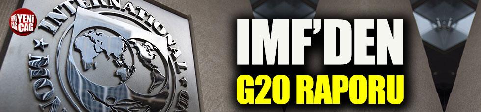 IMF'den G20 değerlendirme raporu