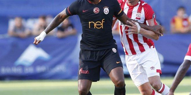 Galatasaray'dan tatsız prova