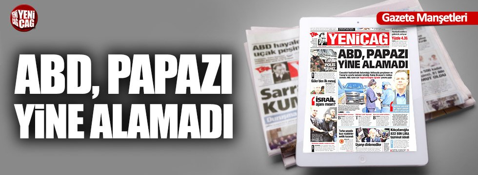 Günün Ulusal Gazete Manşetleri - 19 07 2018