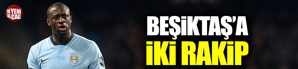 Beşiktaş'a Yaya Toure transferinde iki rakip