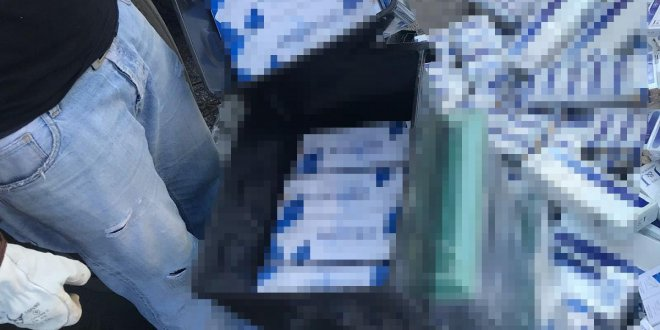 Bir TIR dolusu kaçak sigara ele geçirildi