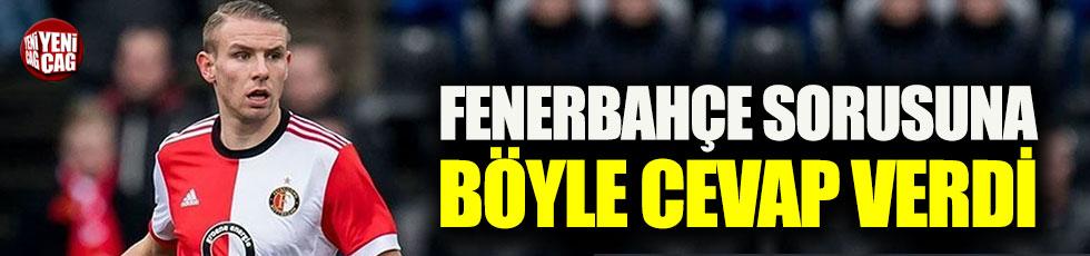 Sven van Beek'ten Fenerbahçe açıklaması!