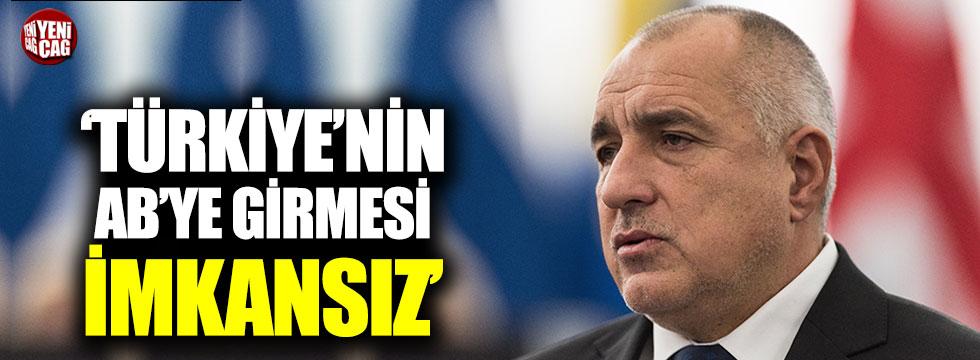 """Borisov: """"Türkiye'nin AB'ye girmesi imkansız"""""""