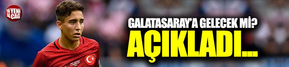 Emre Mor'dan Galatasaray açıklaması