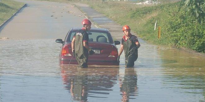 Adapazarı'nda evler sular altında kaldı