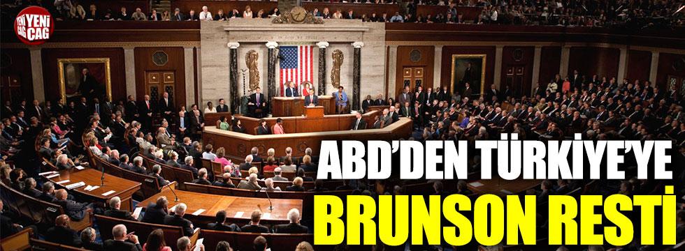 ABD'den Türkiye'ye Brunson resti
