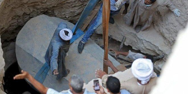 Mısır'da bulunun lahitten çıkanlar şaşkınlık yarattı
