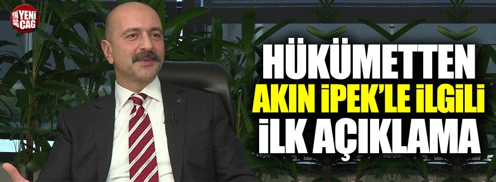 Adalet Bakanı Gül'den 'Akın İpek' açıklaması