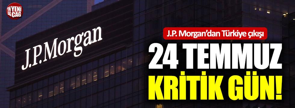 J.P. Morgan'dan Türkiye çıkışı
